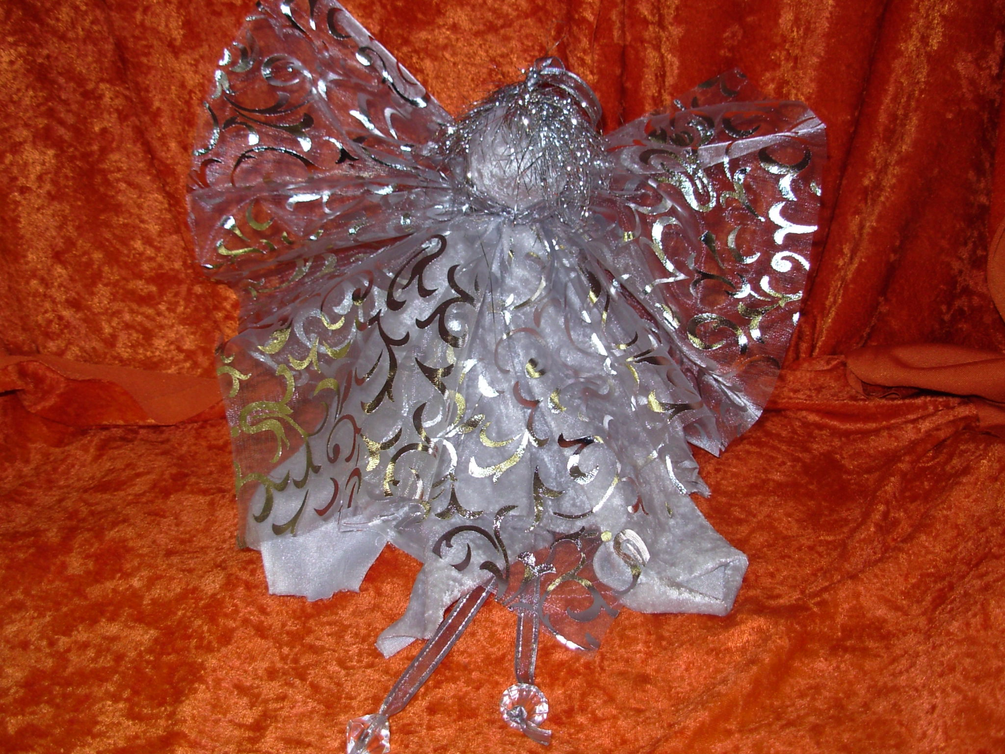 Funky Fabric Angel - Small