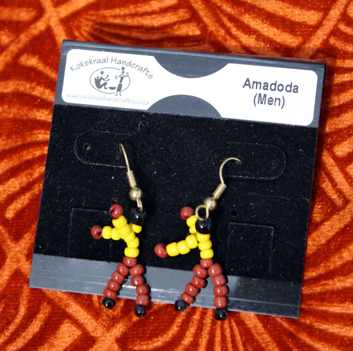 Earrings: Amadoda (Men)