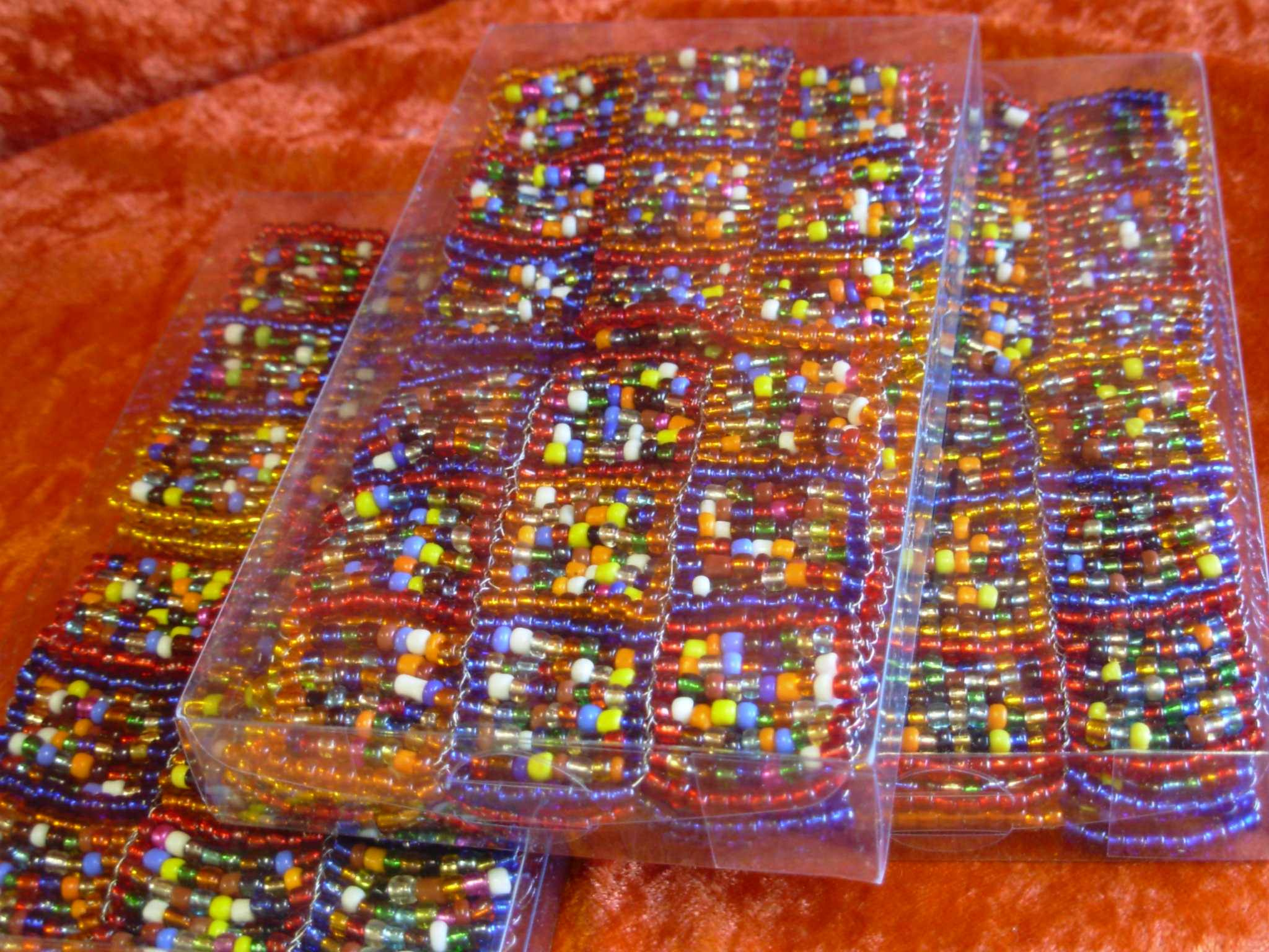 Beaded Coasters (Set of 6)