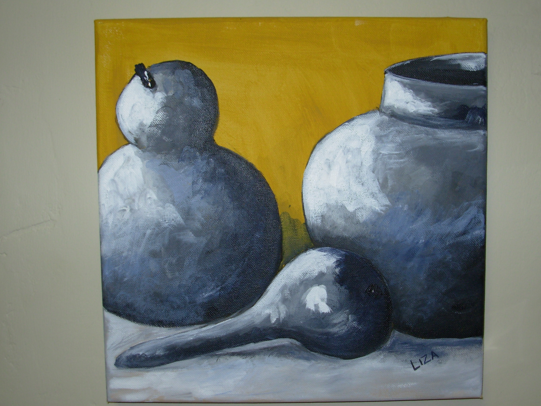 Still life - Squashes